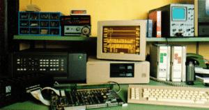 Bild eines Computers aus den Anfangszeiten der isepos GmbH in den 1970er Jahren