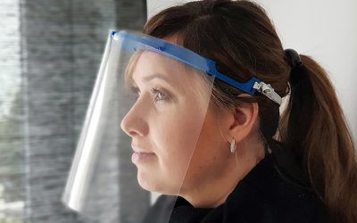 isepos GmbH stellt Gesichtsvisiere zum Selbstkostenpreis her