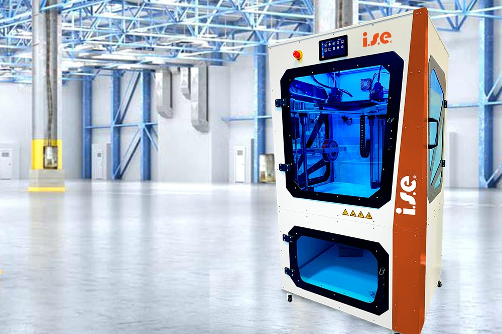 Der 3D-Drucker der isepos GmbH